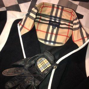 Ladys Burberry XS Golf Jacket & Leather Golf glove